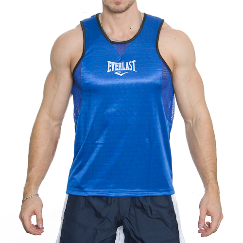 Everlast Stock Boxing Jersey Blue